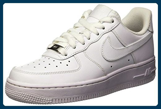 1 Force 07Damen SneakersWeißWhiteWhite41 Nike Air w08mOvNn