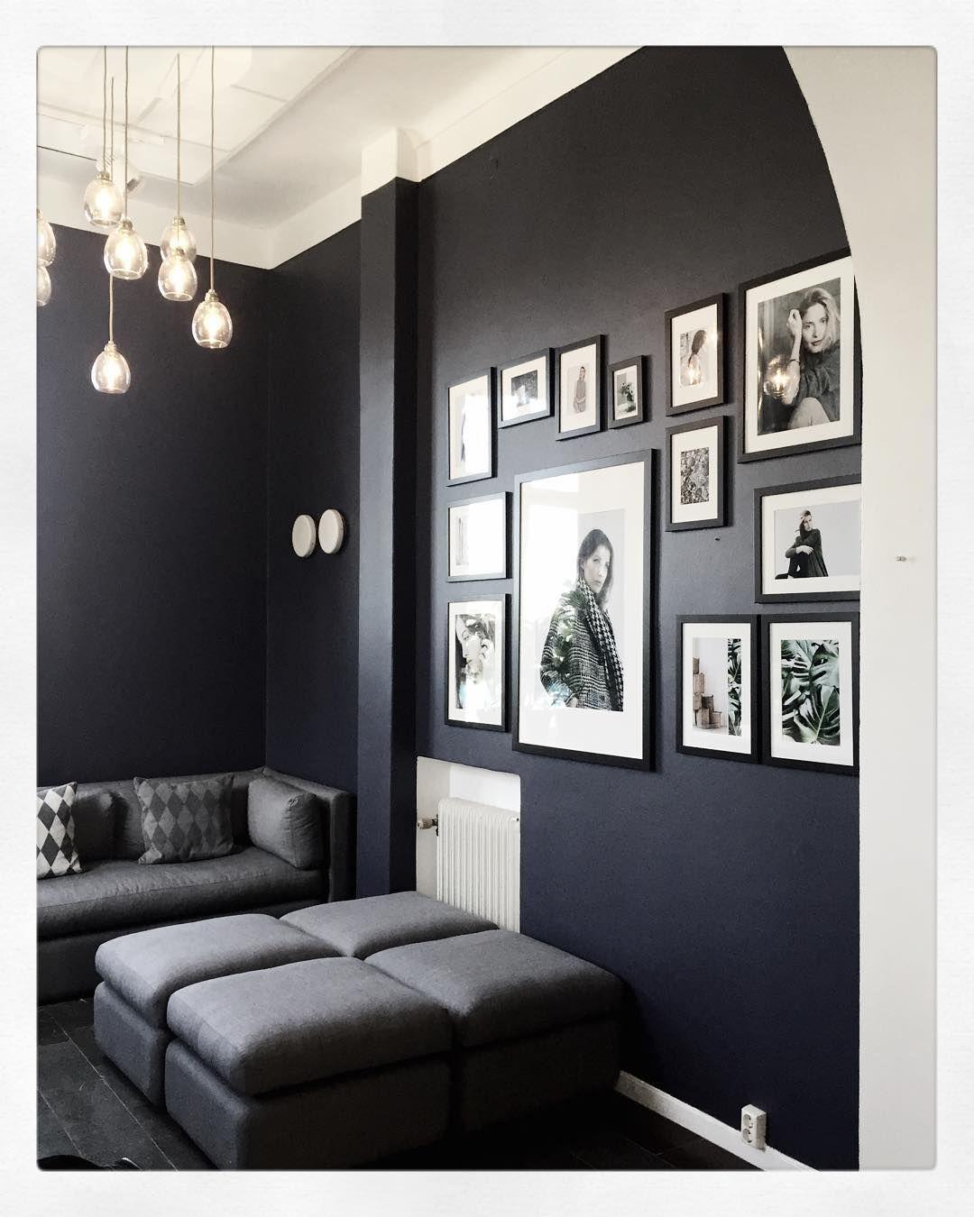 Dark Blue @edbladofficial #edblad #picturewall #darkblue