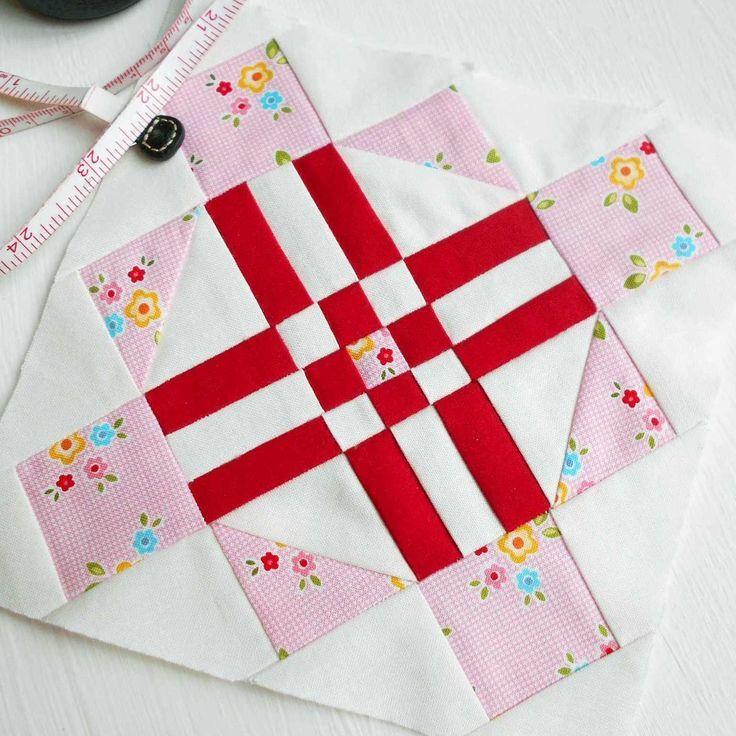 Farmer's Wife 1930s quilt block no. 92 - Sonnie. Paper-pieced ... : 1930s quilt patterns free - Adamdwight.com