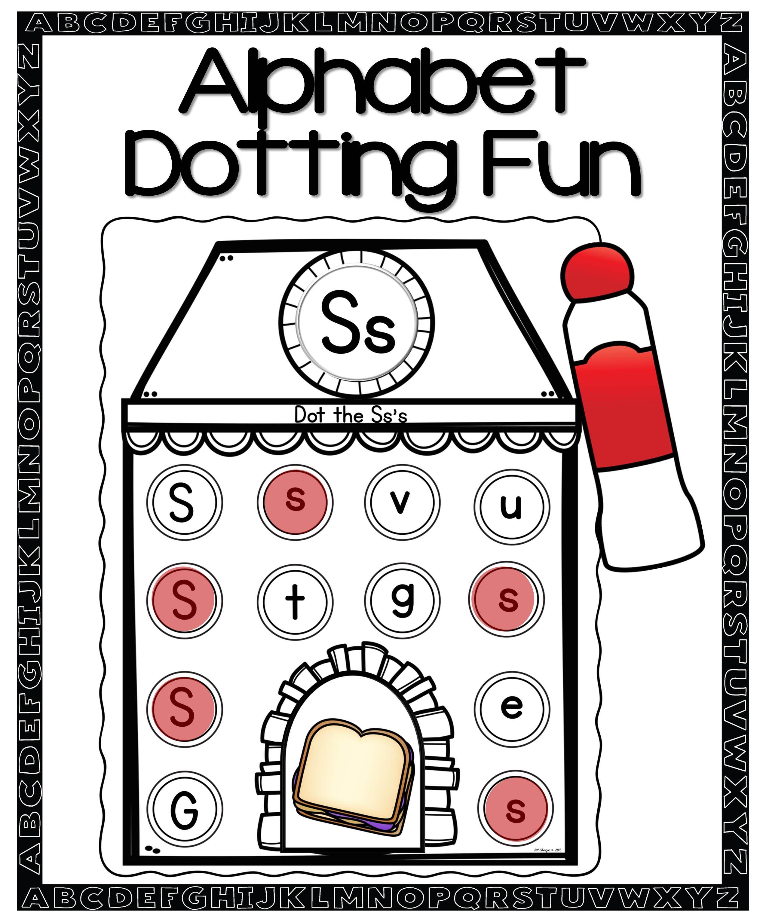 Alphabet Dotting Activities