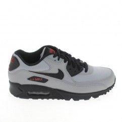 NIKE Air Max 90 Essential Gris Noir | Sneakers nike, Nike ...