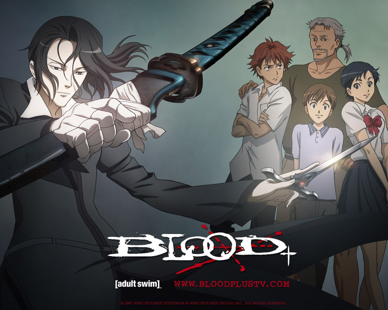 blood+ Blood anime, Anime, Blood wallpaper