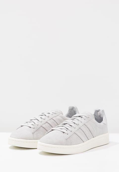 adidas Originals CAMPUS - EXCLUSIVE - Trainers - grey two/offwhite/silver metallic SGMkm4