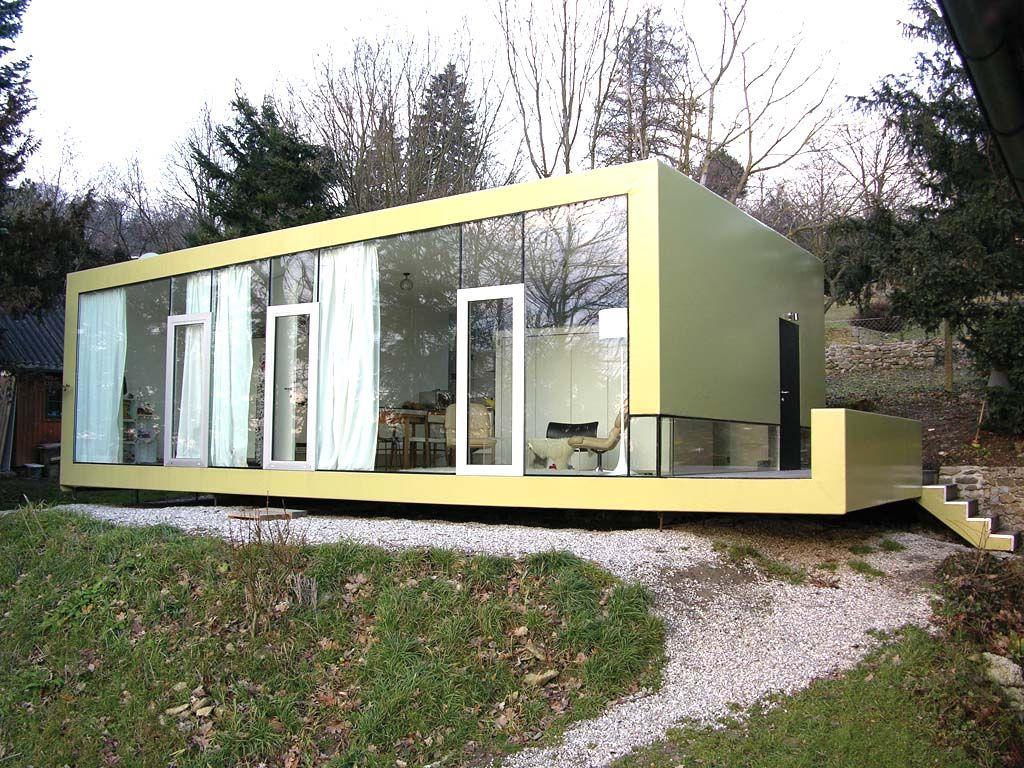 Mini hauser ein xxs haus fur zwei neubau hausideen for Garten planen mit balkon zum wintergarten