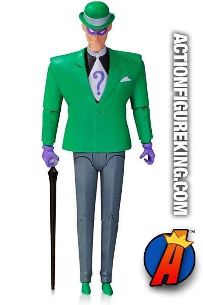 The New #Batman Adventures Animated Series 6-inch scale #RIDDLER