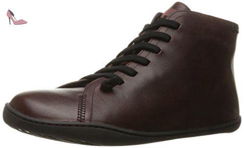 Camper Beetle, Sneakers Hautes Homme, Gris (Dark Gray 001), 39 EU