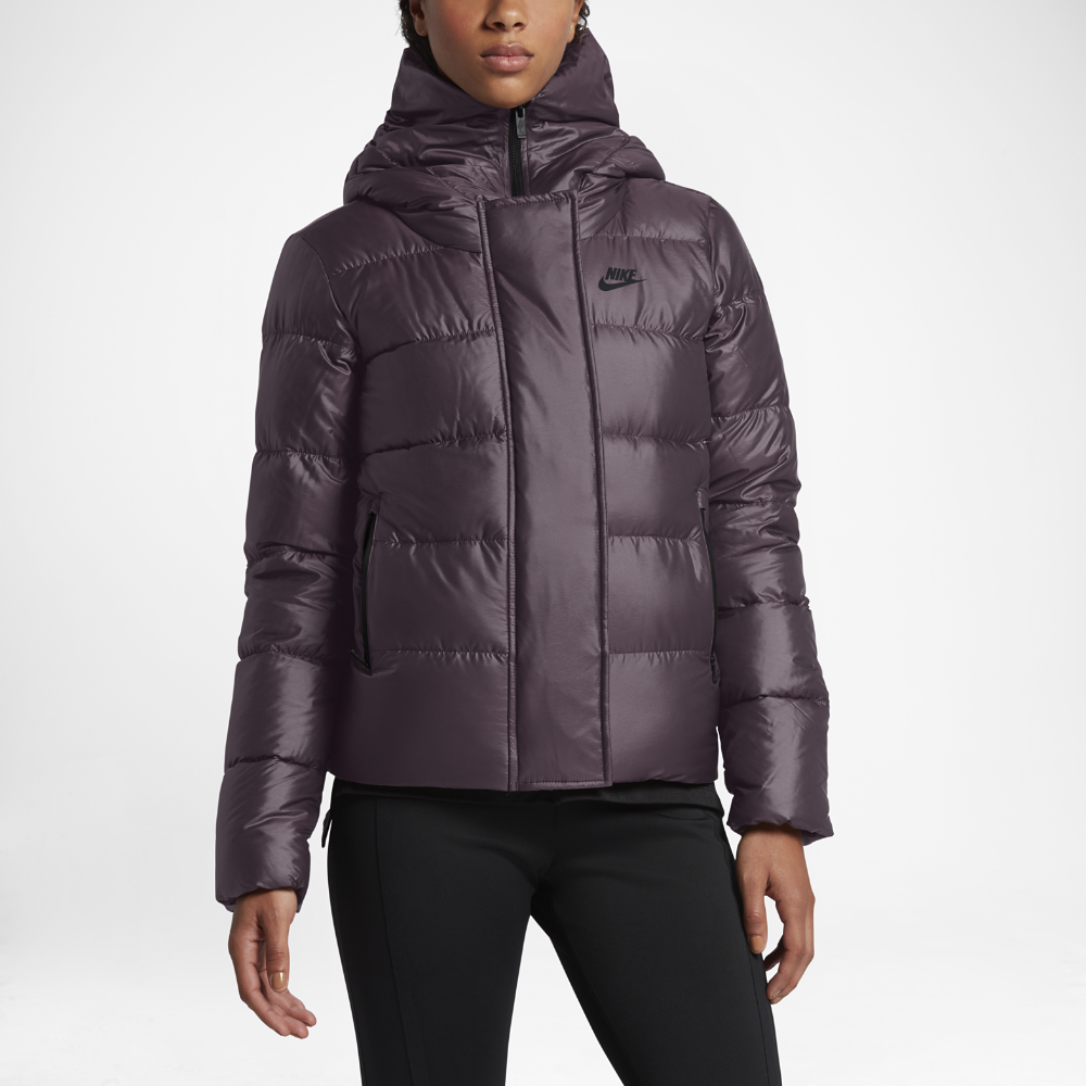 fe0c4cc36707 Nike Sportswear Women s Down Jacket Size Medium (Purple) - Clearance Sale