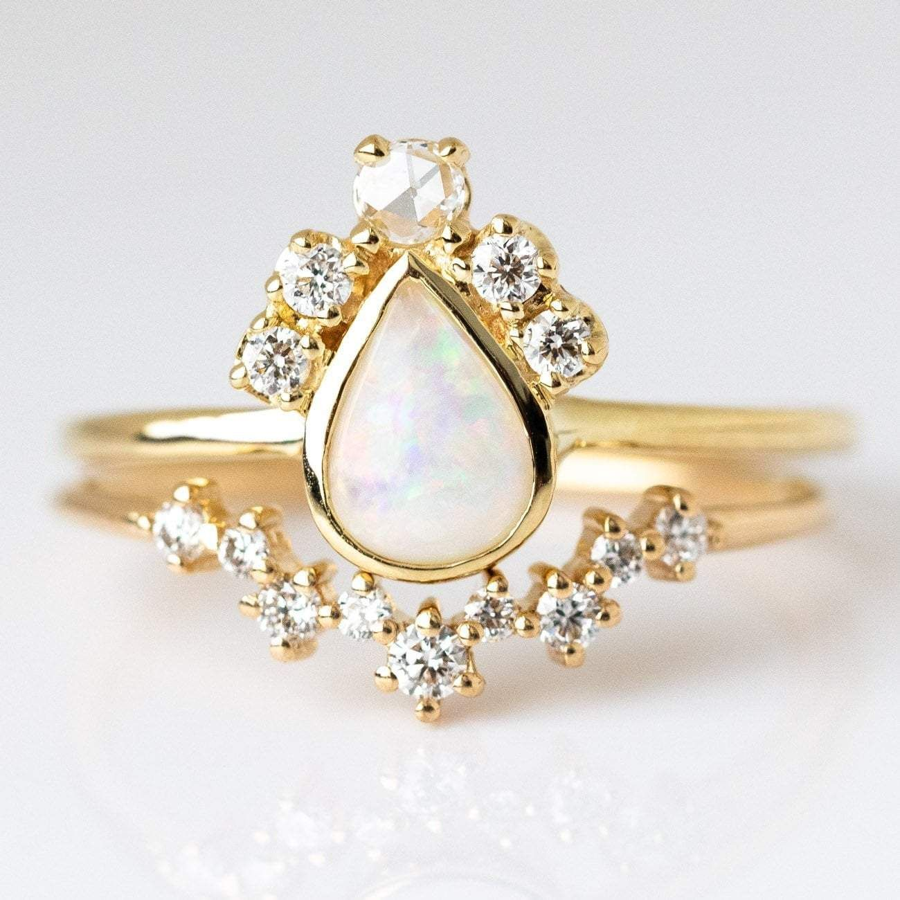Fit For A Queen Stacking Ring Set Wedding ring bands