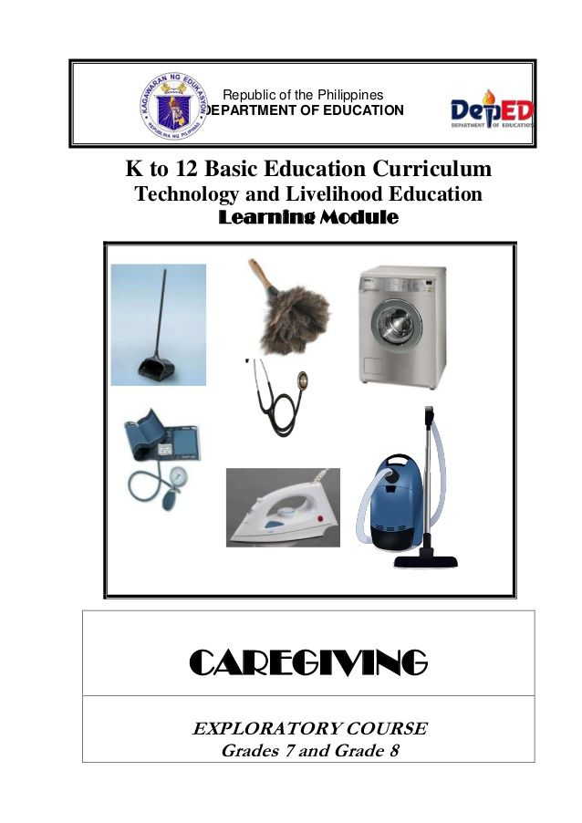 K to 12 Basic Education Curriculum Technology and Livelihood