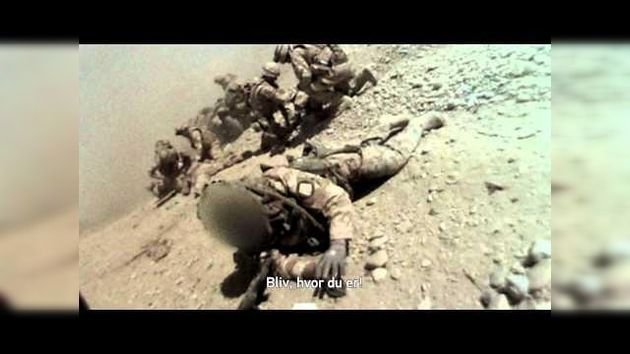 Videoclub - Soldados pisan una mina de los talibanes en Afganistán