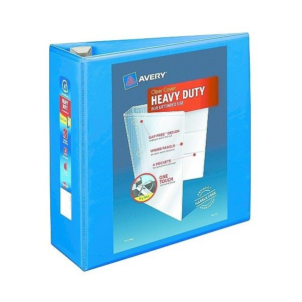 avery heavy duty view binder with locking ezd rings cap pacific