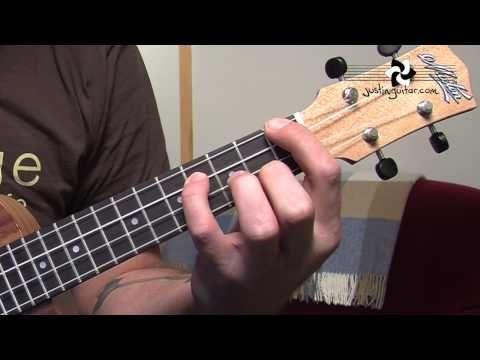 Ukulele Lesson 3 Uke Open Chords A Amin A7 D Dmin D7 E Emin E7