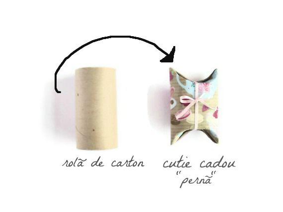 toilet paper ---->to gift wrap,really good idea:)