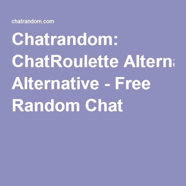 chatroulette alternative random