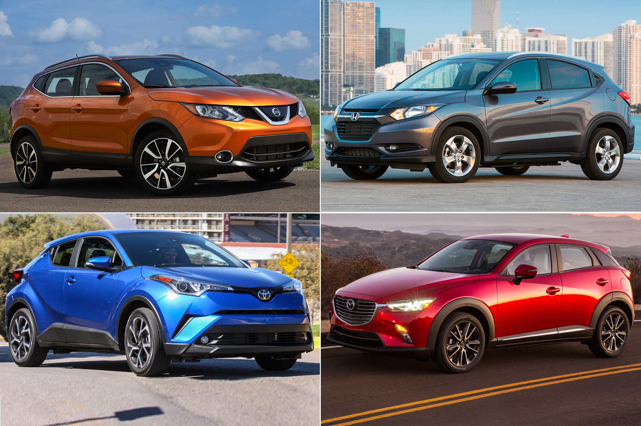 Styling SizeUp 2017 Nissan Rogue Sport vs. the