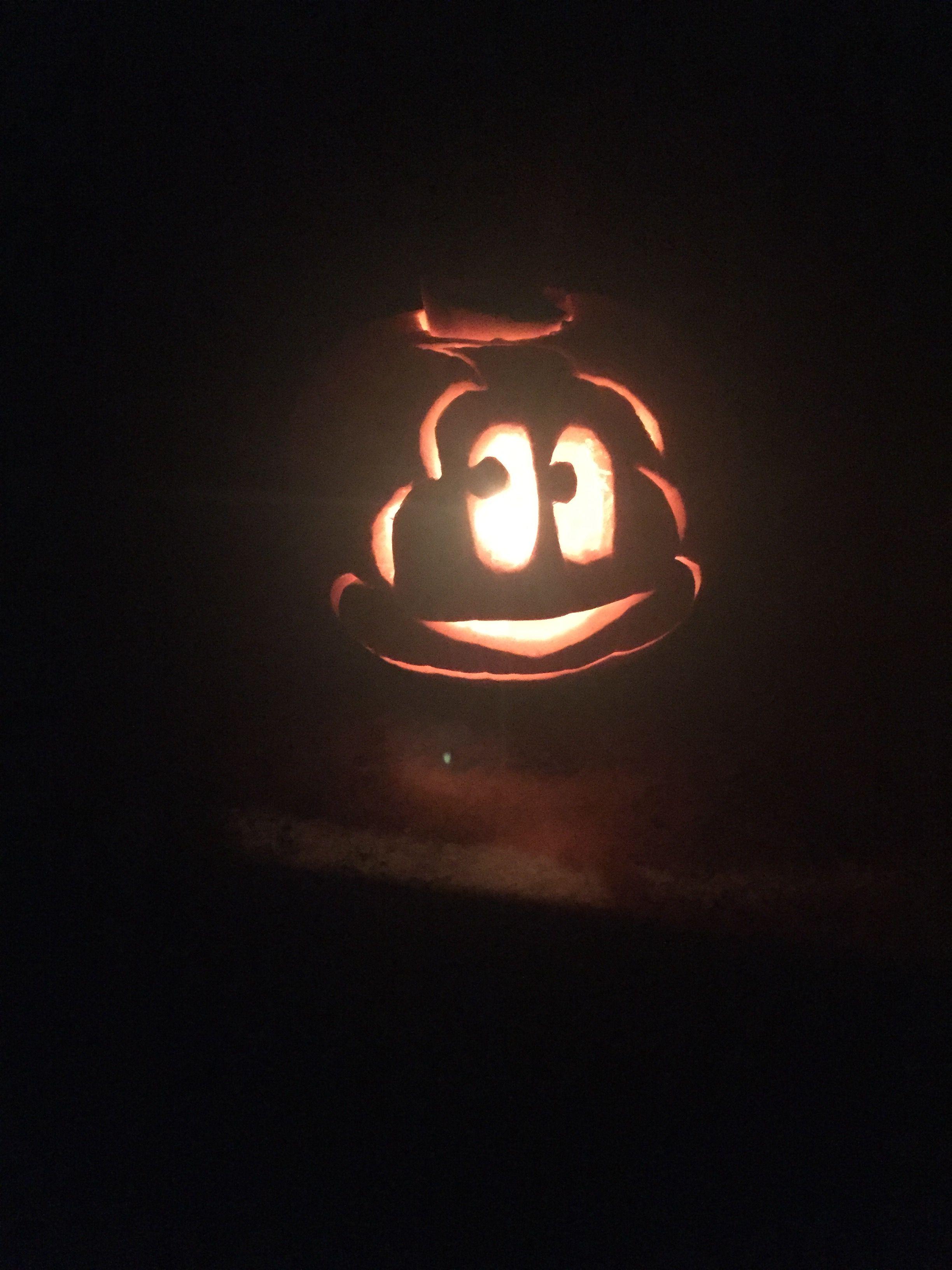 halloween 2016 carved by jason daddy the emoji jack o