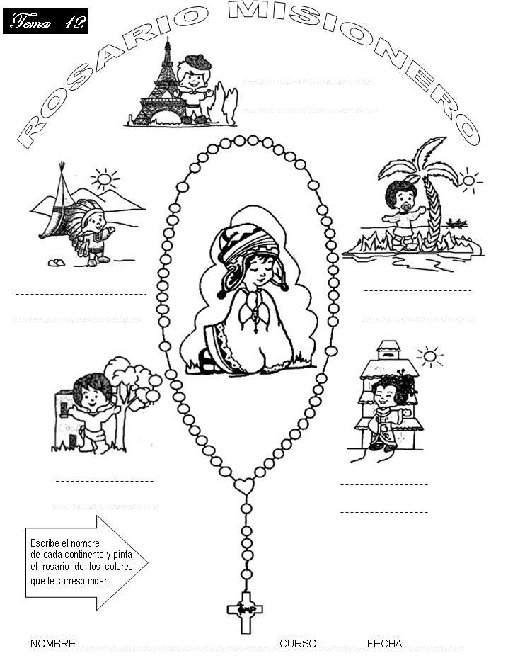Resultado De Imagem Para Infancia Missionaria Atividades Infancia Missionaria Missionarios Religioso