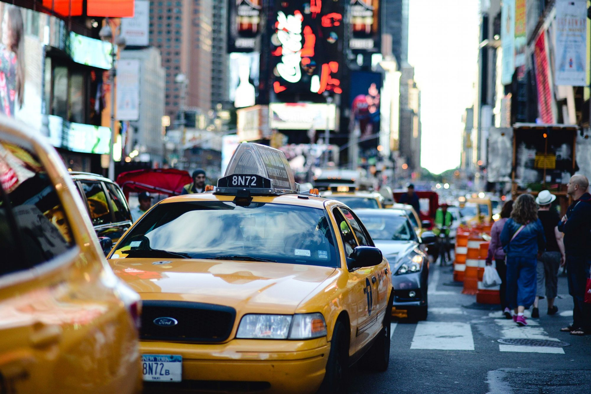 Times Square traffic by Francesca Russell on 500px