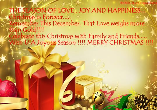 Christmas Quote With Love Wallpaper Free