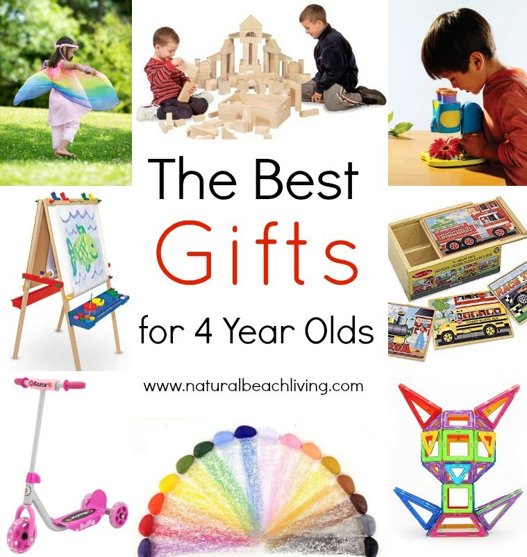 The Best Gifts for 4 Year Olds | 4 year old toys, 4 year ...
