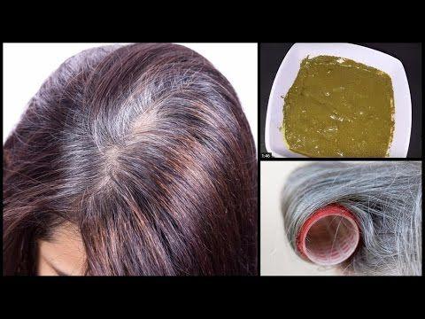علاج شيب الشعر نهائيا في اقل من ساعه علاج الشعر الابيض نهائيا اصنعيها بنفسك Youtube