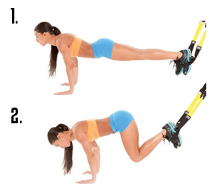 TRX Suspended Crunches pinpoint the lower abs to build ...