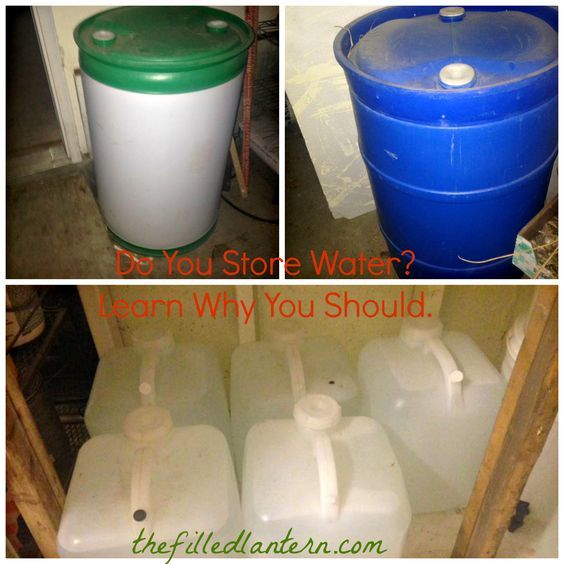Do You Store Water Learn Why You Should.