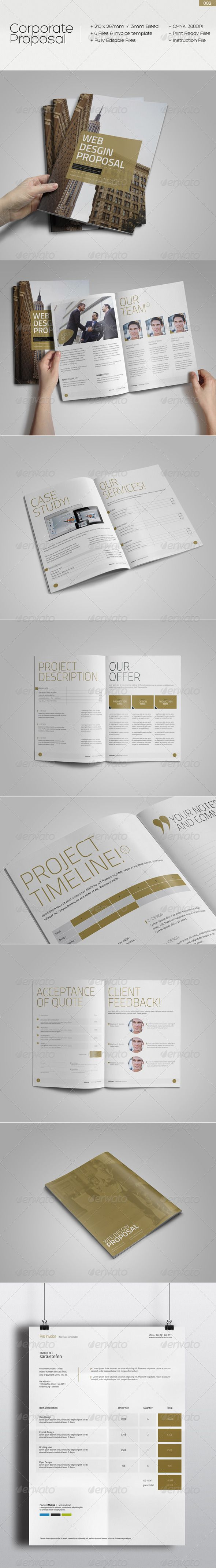 Corporate Proposal Template Download httpgraphicrivernetitem Corporate