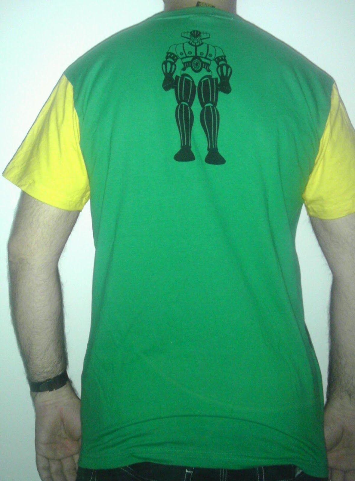 jeeg robot d'acciaio verde e gialla miva dai ca##o! retro