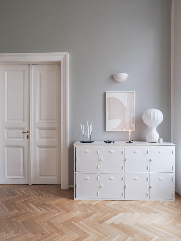 Graue Wandfarbe von Farrow & Ball Schlafzimmer