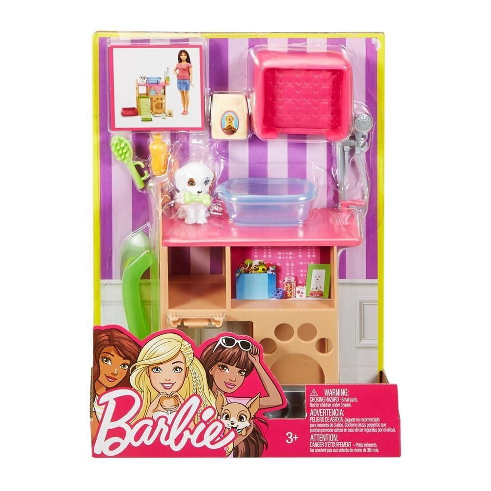 Muebles y accesorios barbie mattel cuarto de mascotas - Muebles para mascotas ...