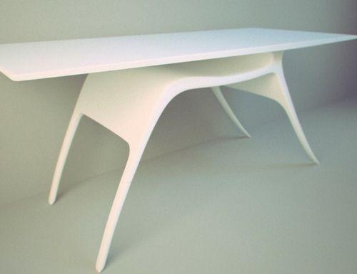 42 Ausgefallene Schreibtische Für Ihr Büro   Raffiniert Schreibtisch Weiß  Design Natur Inspiriert Hirsch Gestalt