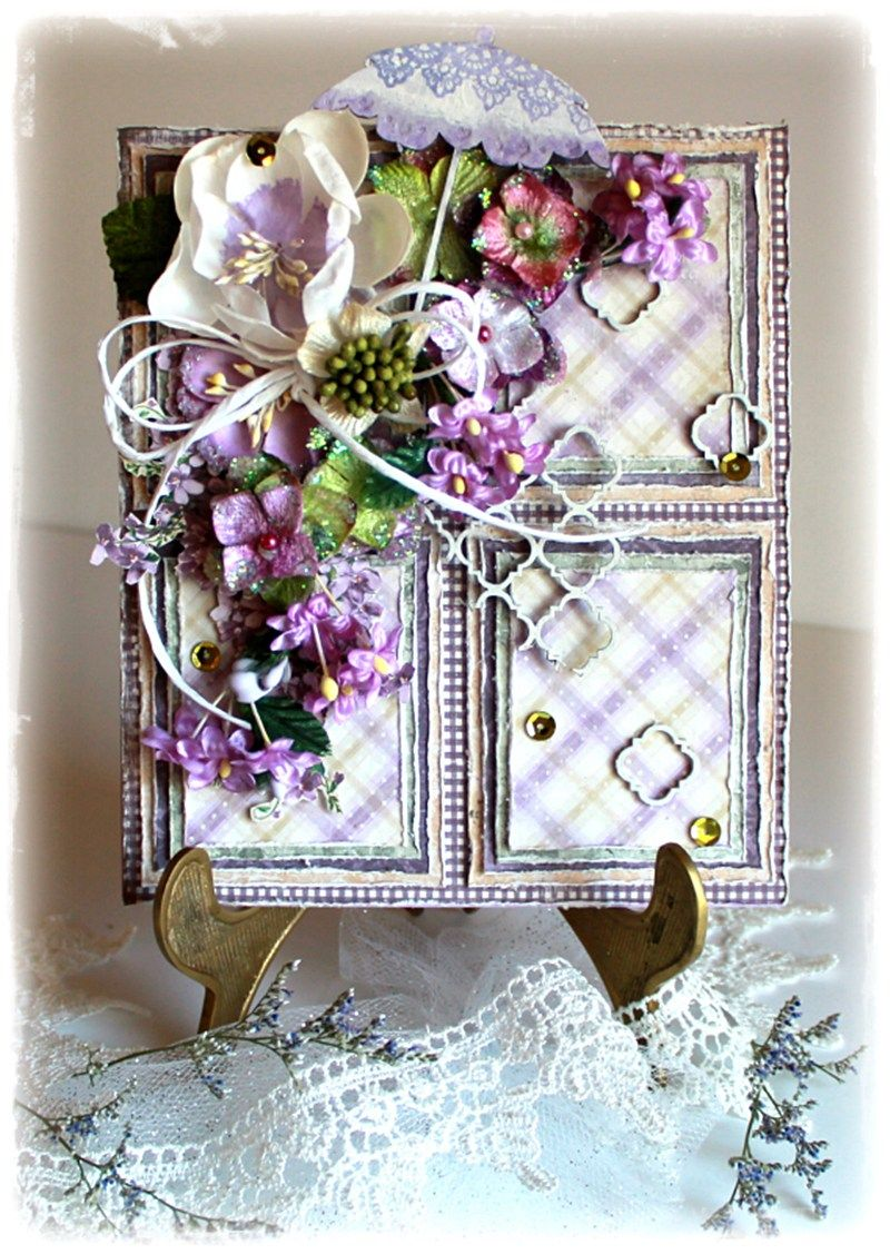 letter a with crown lainie michel usa ska vi ta en fika shabby chic cards 8677