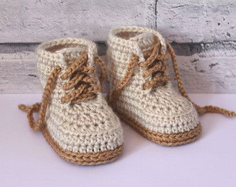 CROCHET PATTERN Cute baby Sneaker Crochet booties Federation Runners cool modern funky, Blue running shoes boys, English language only #crochetbabyboots
