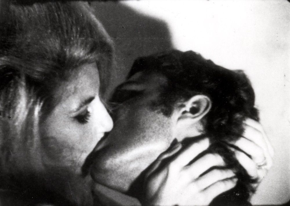 Image result for kiss 1963 film still andy warhol