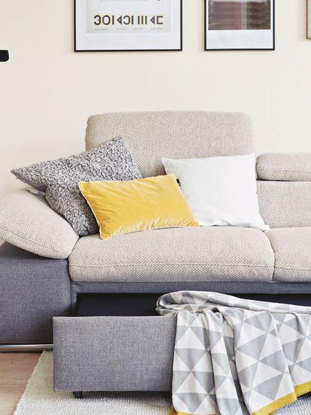 Wohnzimmer mit Wohlfühl-Atmosphäre Crafty and Decorating