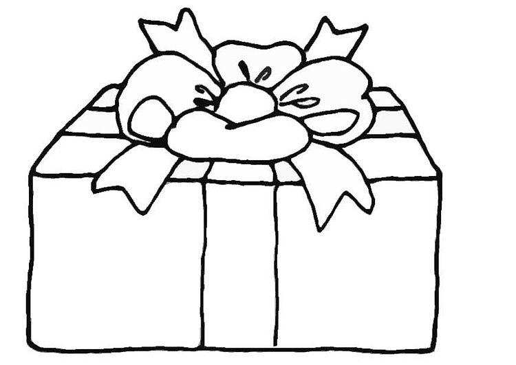 regalo navidad para pintar | navidad | Pinterest | Navidad, Colores ...