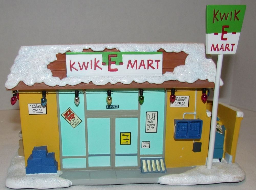 Simpsons Christmas Village.Details About Hawthorne Village Simpson S Christmas Village