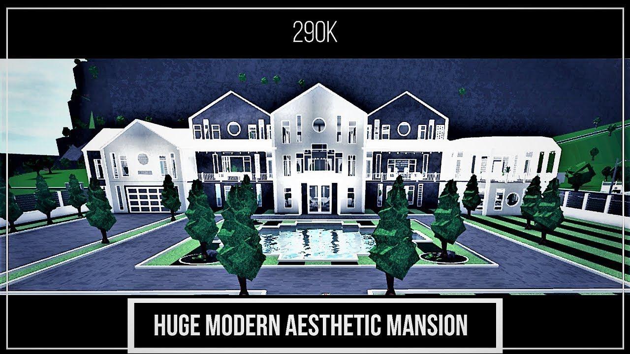 Huge Mansion Bloxburg Google Search Mansions Huge Mansions Cute House