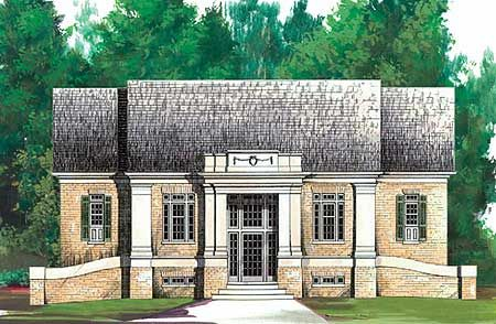Plan 12110jl Georgian Classic In 2020 Colonial House Plans House Plans Colonial Style Homes