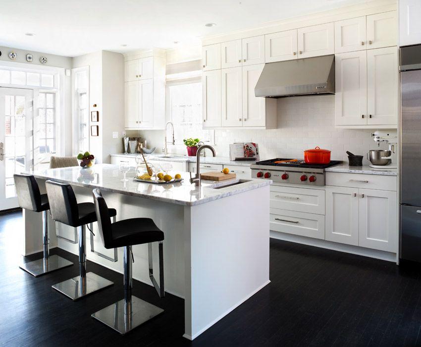 Charming 25 Stunning Transitional Kitchen Design Ideas