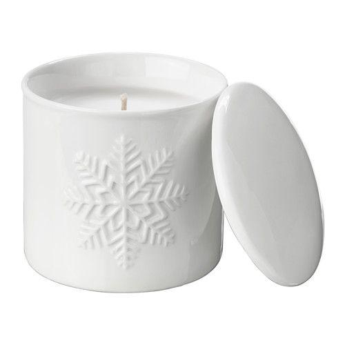 vinter 2017 bougie parfum e pot couvercle ikea noel pinterest bougie parfum e coupelle. Black Bedroom Furniture Sets. Home Design Ideas