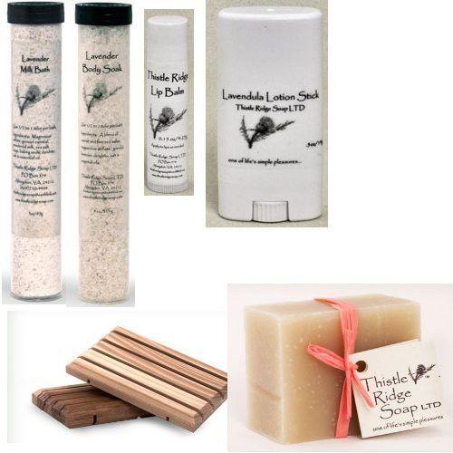 Thistle Ridge Soap Product Sample Set