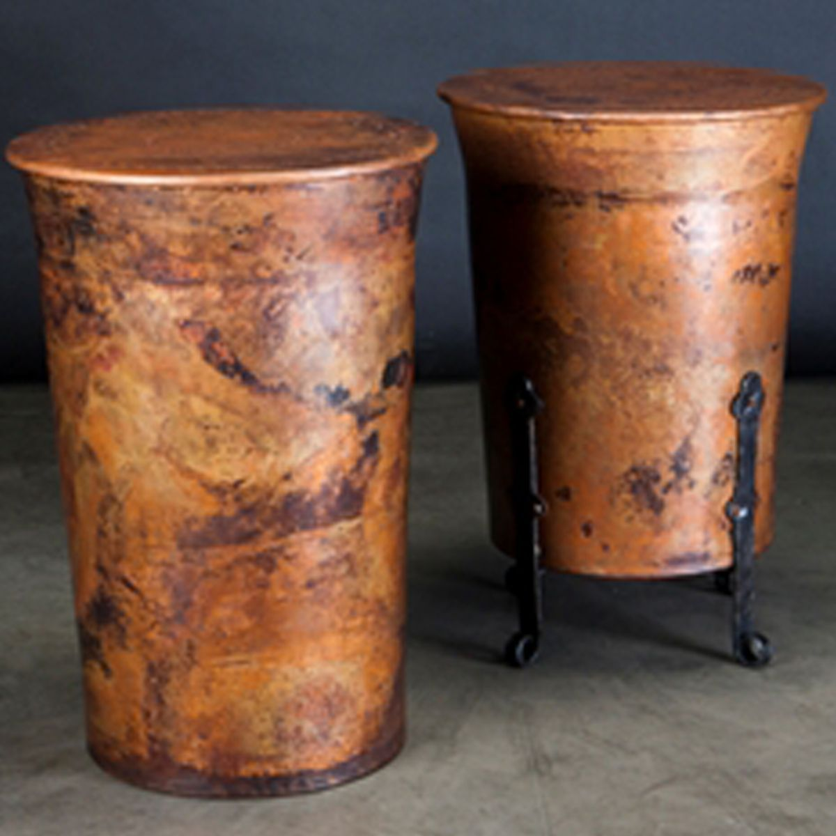 Jackson Hole Copper Accent Table (many Sizes)