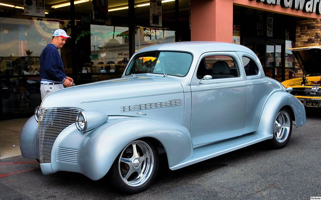 1939 Chevrolet Master Deluxe 4 Passenger Coupe Chevy Classic Chevy Hot Rods Cars