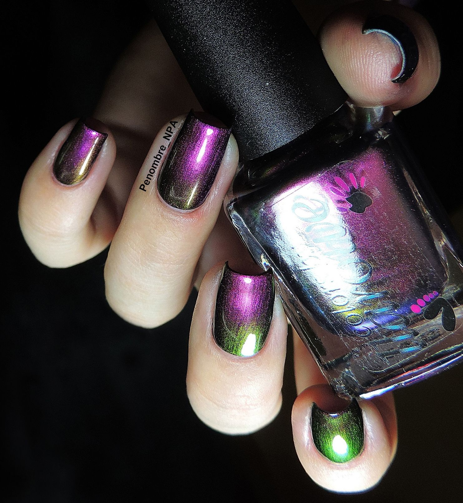 Do The Twist - Hot pink to purple to copper to burgundy to green ...
