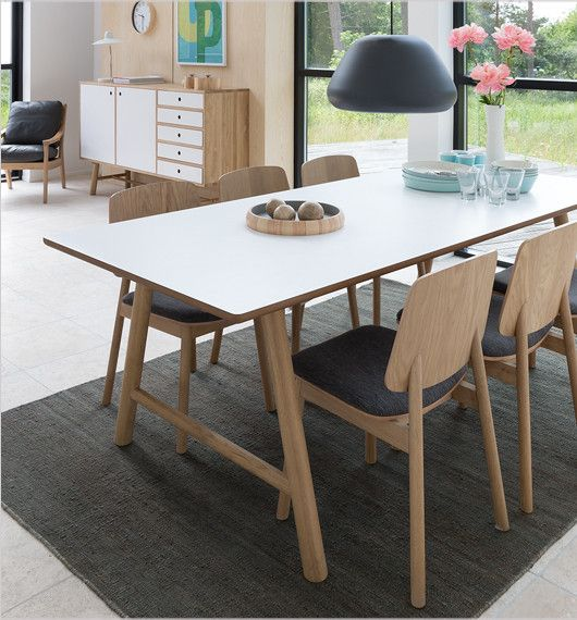 Love The Danish Design 'why Wood' Dining Chairs Living And Inspiration Wood Dining Room Table Review