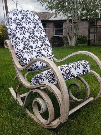 Stupendous Bentwood Rocking Chair Makeover Rocking Chair Rocking Machost Co Dining Chair Design Ideas Machostcouk