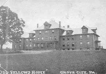 Odd Fellows Home, Grove City