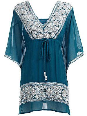Long Tunic Blouses For Women Muslim Women Fashions Islamic
